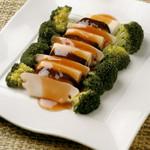 中国料理 唐膳 - ベジタルあわびと豆腐のオイスターソース