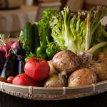 中国料理 唐膳 - 自社農園で栽培された安心安全な野菜