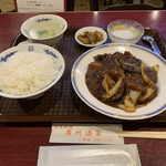 廣州酒家 - R2.10  日替わり定食・B.麻婆茄子