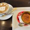 カフェ マリオ シフォン - 料理写真:カフェラテ&純生プリン