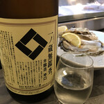うにと牡蠣と日本酒と 鮨遊成 - 一ノ蔵も飲み放題