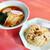 中華料理 珍来 - 料理写真:鶏チャーシュー炒飯 + ラーメン セット ¥780