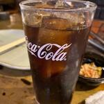 炉ばた煉瓦 - コカ・コーラ