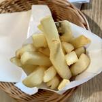 モスカフェ - モスのポテトフライが大好き♬ この形に食べ応えを感じます。