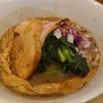 煮干し中華そば 一剣 - 料理写真:濃厚煮干しそば(780円)。