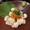 焼鳥 修 - 料理写真:鶏ササミ生ウニ乗せ
