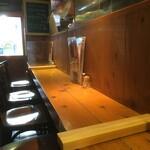 チキンプレイス - ◆感染防止対策◆カウンター着席数を減らし、間仕切りの設置