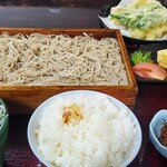 いし田 - 天ざる定食