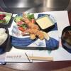 鉄板焼 ウチダ - 料理写真:海老フライ定食