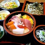 割烹食堂 中越 - 料理写真:海鮮丼セット