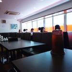 中華美食旭亭 - 初めて2階へ通されました。