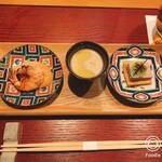 Izakayatanuki - 前菜の三品