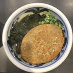 四国屋 - 料理写真:じゃこ天うどん880円