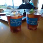 ポートテラスカフェ - 凍ったフルーツティー