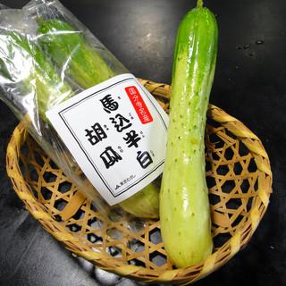江戸野菜「馬込半白胡瓜」ほか