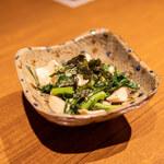 土香る - やんばる木ノ子と青菜のナムル