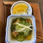 Hinodeya - 鰻酢と漬物