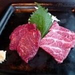 Ramu Tokyo - 馬刺し
