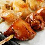 比内や - 健康地鶏のレバーは、しっとりした食感で まさにフォアグラのような上品な味わいです