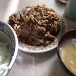 牛丼専門サンボ - 牛皿