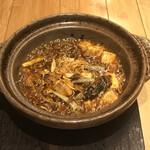 mandarimma-kettobunkaichiba - 牡蠣と下仁田ネギの変わり麻婆豆富 1,200円