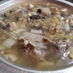 美食蔵部 - パインすっぽん鍋