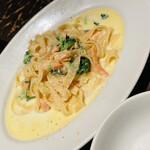 ナポリの食堂 アルバータ アルバータ - 取り皿を持ってきて貰いました