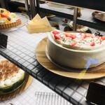 spoony cafe - ショーケースケーキ②