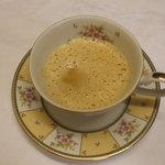 1412285 - フォアグラのフランと海老のスープ