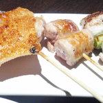 焼鳥和房 えん福 - ジューシー軍鶏の焼鳥