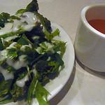 フランク - サラダとオニグラスープ