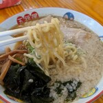 五福星 - 背脂生姜ワンタン麺