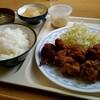 めし家かつとく - 料理写真:から揚げ定食950円。