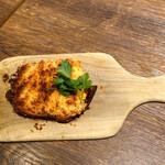 バル コションローズ - 自家製焼きパテカン