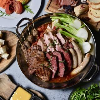 肉好きが考えた肉好きの為の肉鍋コース!