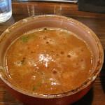 中華そば 椿 - 特製つけ麺大盛り