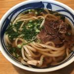 山岐庵うどん - 料理写真:肉うどん=500円 税込