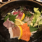 海船ぶた丸 - 本日の刺身盛り 上(1,500円)
