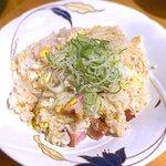 串や とりけん - ガーリック炒飯¥480 2020.11.20