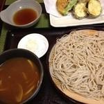 14122884 - カレーせいろ、野菜の天ぷら