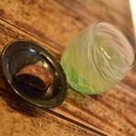 沖縄そば ゆんたく - 定食共通のデザートとドリンク2020年11月