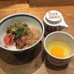 博多担々麺 とり田 - 博多めんたい丼
