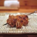 焼鳥 うの - 料理写真:かわ/250円