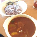 清泉寮 ファームショップ - トマトのチキンカレー ¥1,150 (税抜)