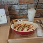 cafeちょここ - 料理写真:ハンバーググラタン 880円(税込)
