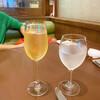 モン - ドリンク写真:シャンパン&ウオーター