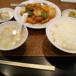 14124033 - 酢豚ランチ750円