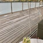 cafe&dining blue terminal - 銀杏の紅葉を眺めながら