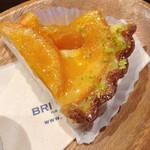 ブリックカフェ - オレンジタルト うまっ!