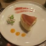 Bistro Ginsai - バスク風チーズケーキ
